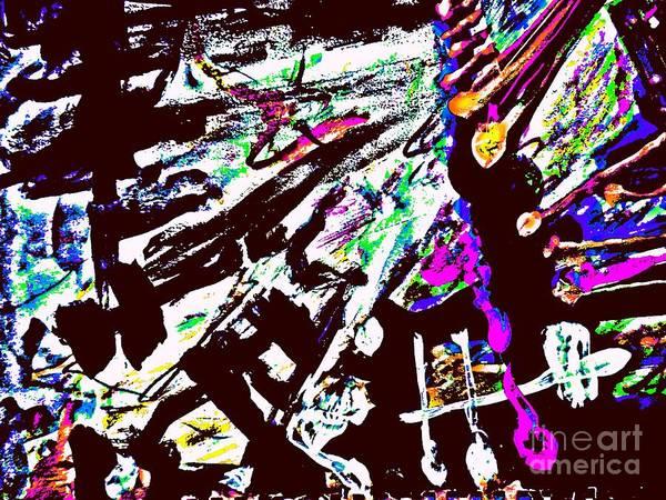 Painting - Radical Abstract-8 by Katerina Stamatelos