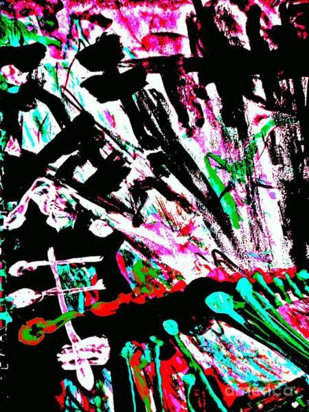 Painting - Radical Abstract-9 by Katerina Stamatelos