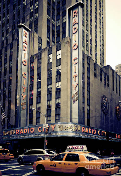 Photograph - Radio City by RicharD Murphy