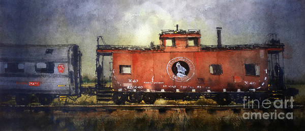 Railway Painting - Radio Equipped by Tim Oliver
