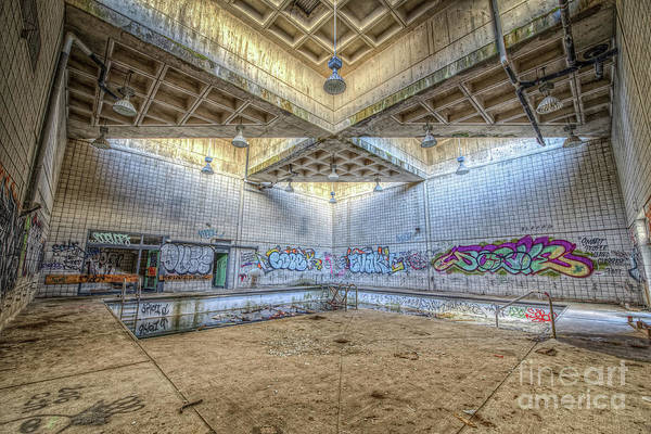 Wall Art - Photograph - Radioactive Pool  by Michael Ver Sprill