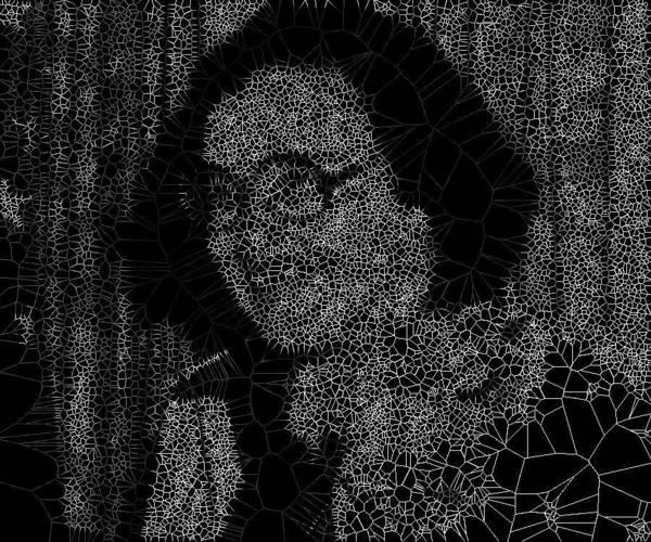 Digital Art - Radioimmunoassay Woman by Stephane Poirier