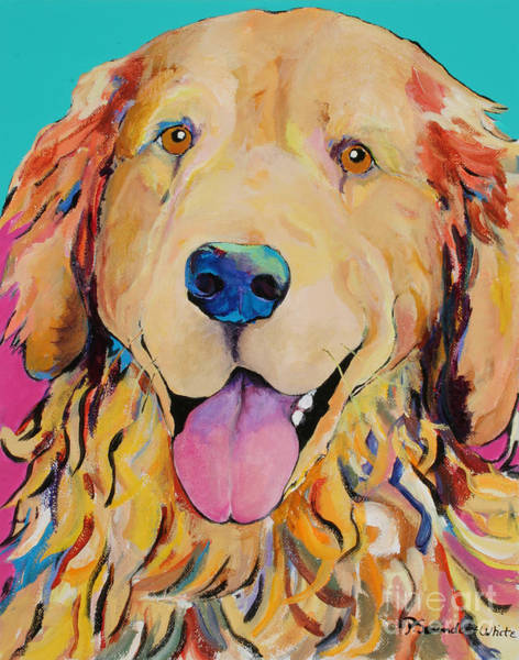 Painting - Radley by Pat Saunders-White