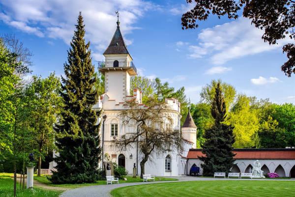 Photograph - Radziejowice Castle by Tomasz Dziubinski