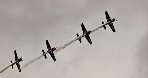Photograph - Raf Scampton 2017 - Global Stars In A Line by Scott Lyons