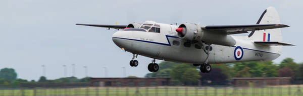 Photograph - Raf Scampton 2017 - Hunting Percival P 66 Pembroke Taking Off by Scott Lyons