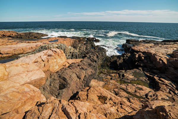 Photograph - Rafe's Chasm Gloucester Ma North Shore by Toby McGuire