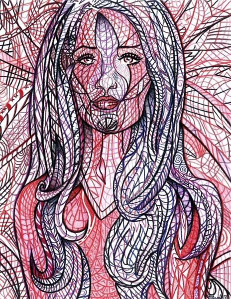 Drawing - Rag Doll by Danielle R T Haney