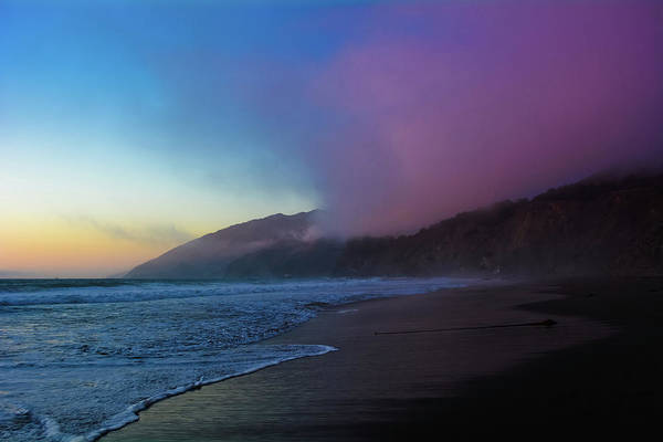 Photograph - Ragged Point Sunset by Kyle Hanson