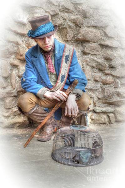Photograph - Ragged Victorians - The Rat Catcher by David Birchall