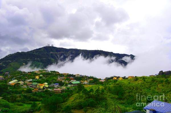 Photograph - Raging Clouds On The Village by Christopher Shellhammer
