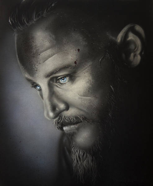 Painting - Ragnar by Daniel Natterdal