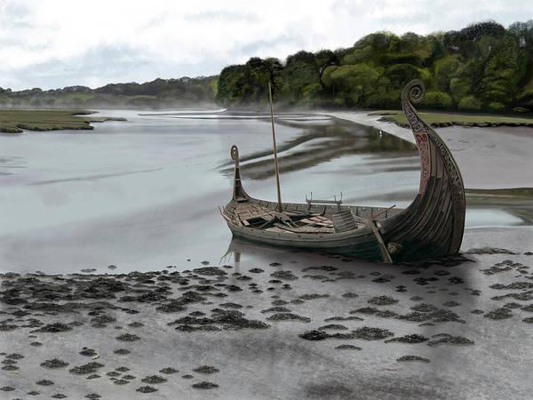 Digital Art - Ragnar's Epitaph by Nigel Follett