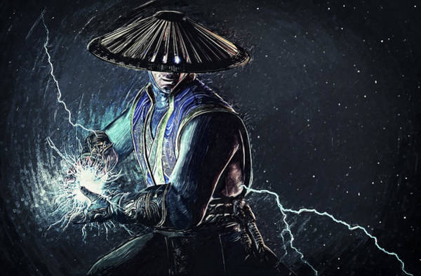Digital Art - Raiden - Mortal Kombat by Zapista Zapista
