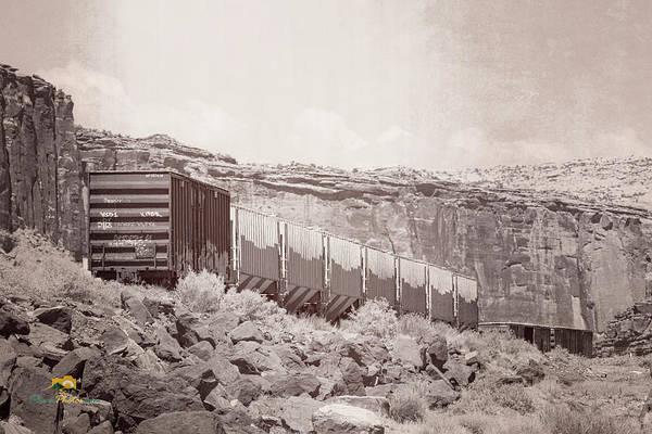Photograph - Rail Cars by Jim Thompson