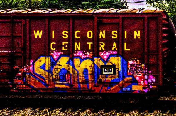 Photograph - Rail Heads Artwork by Jeff Kurtz