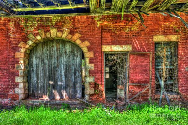 Norfolk Southern Wall Art - Photograph - Rail Road Warehouse Doors Art by Reid Callaway