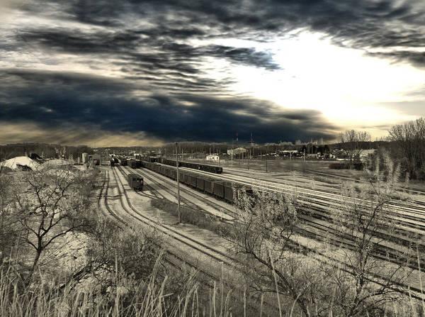 Photograph - Rail Yard 4 by Scott Hovind