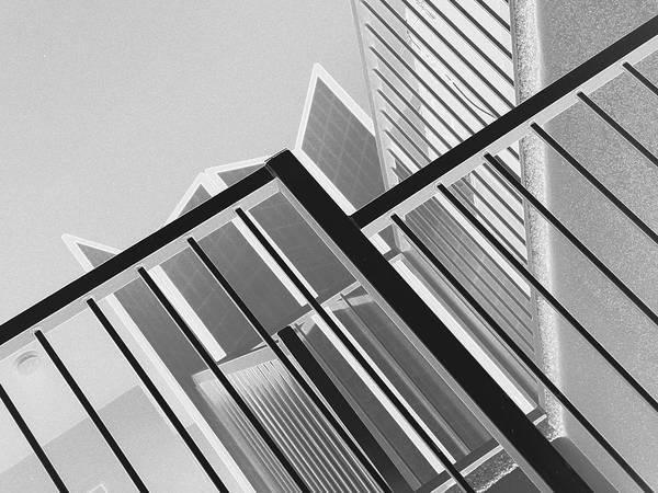Photograph - Railing Abstract 5 by Lynda Lehmann