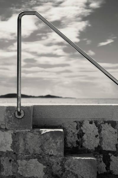 Handrail Photograph - Railing by Dave Bowman