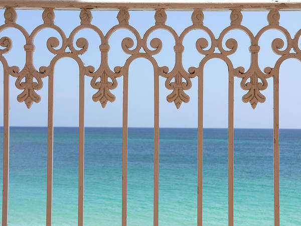 Photograph - Railing Off Paradise by Richard Reeve