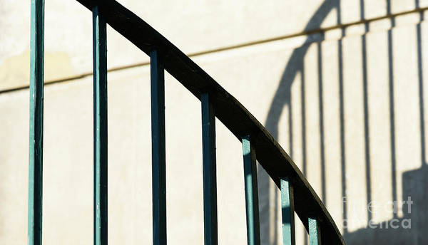 Photograph - Railings And Shadows by Colin Rayner