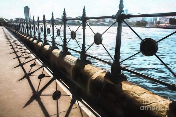 Wall Art - Photograph - Railings At Sydney Harbour Bridge by Sheila Smart Fine Art Photography