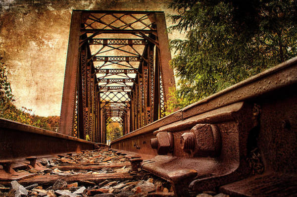 Halifax Wall Art - Photograph - Railroad Bridge by Cindi Ressler
