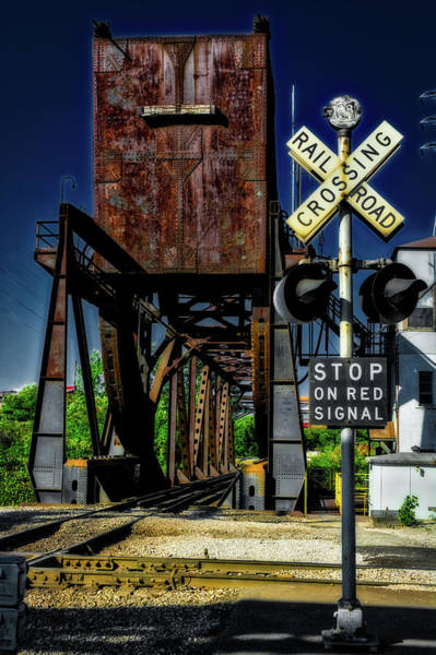 Photograph - Railroad Crossing by Stewart Helberg