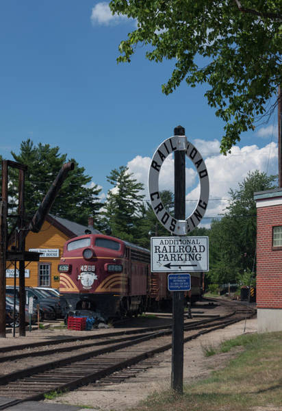 Wall Art - Photograph - Railroad Crossing by Suzanne Gaff