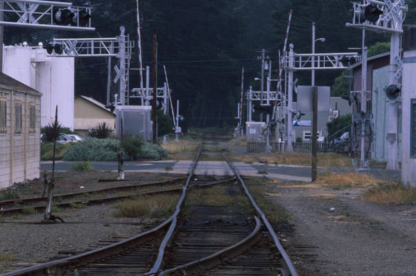 Fort Bragg Photograph - Railroad - Fort Bragg California by Soli Deo Gloria Wilderness And Wildlife Photography