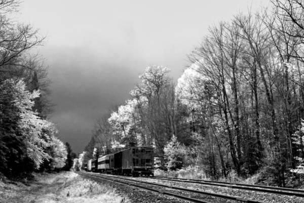 Photograph - Railroad Landscape by David Patterson