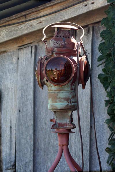 Photograph - Railroad Light  by Lesa Fine