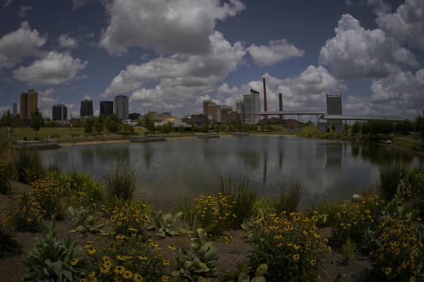 Photograph - Railroad Park Skyline by Just Birmingham