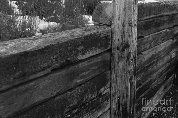 Photograph - Railroad Ties by Robert WK Clark