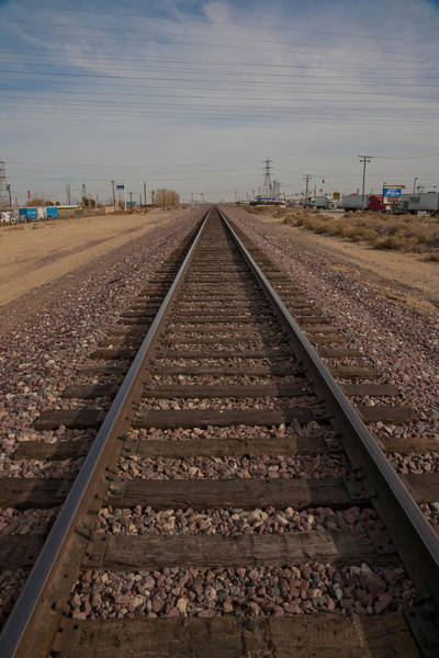 Photograph - Railroad To Nowhere by Matthew Bamberg