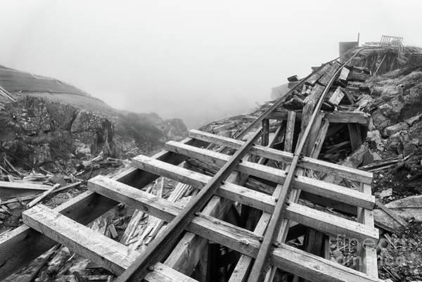Photograph - Railroad To Nowhere by Paul Quinn