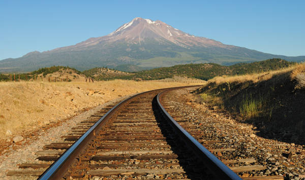 Photograph - Railroad To The Mountain by Loree Johnson