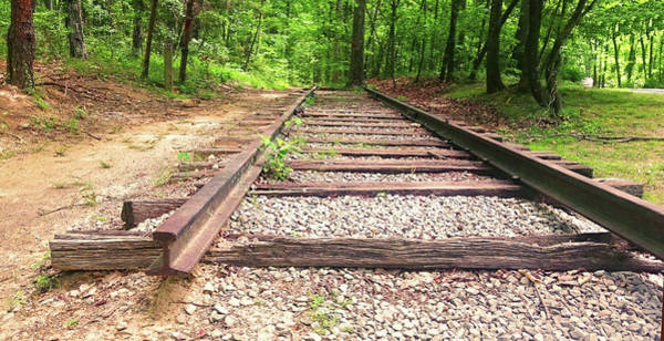 Wall Art - Painting - Railroad Tracks To Neverland by Patricia Awapara