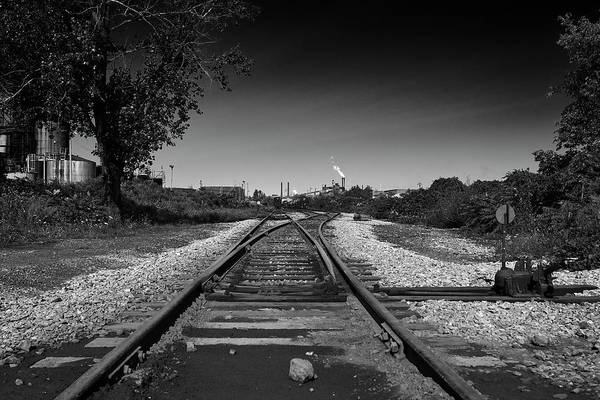 Photograph - Rails-1 by Joseph Amaral