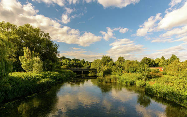 Photograph - Railway Bridge A Crossing River Avon In Bradford-on-avon by Jacek Wojnarowski