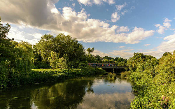 Photograph - Railway Bridge B Crossing River Avon In Bradford-on-avon by Jacek Wojnarowski