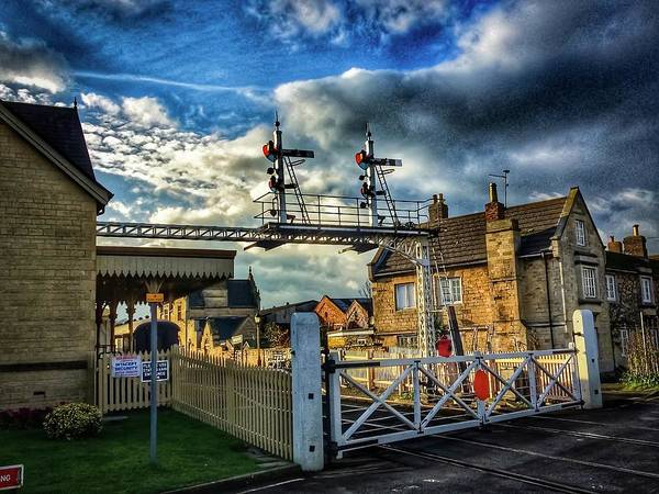 Photograph - Railway Crossing  by Cliff Norton