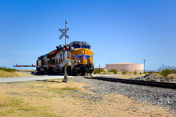 Photograph - Railway Crossing by Joe Lach