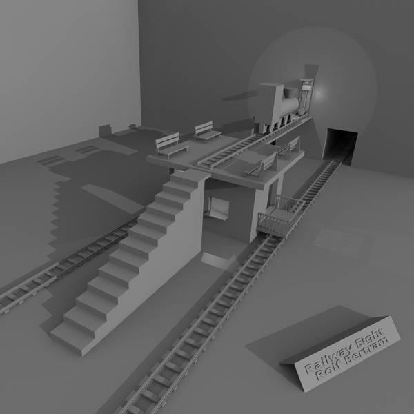 Digital Art - Railway Eight by Rolf Bertram