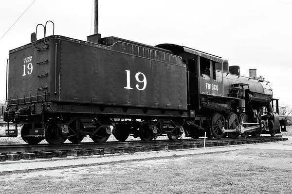 Photograph - Railway Engine In Frisco by Nicole Lloyd