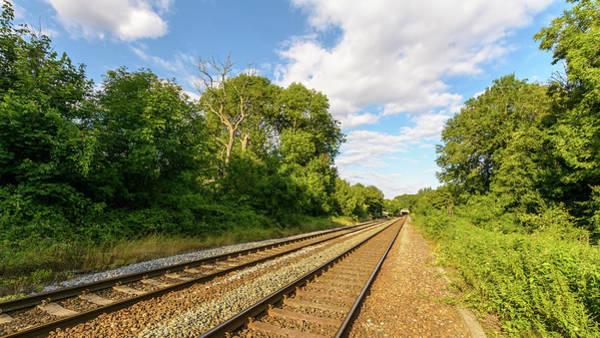 Photograph - Railway In Wiltshire C by Jacek Wojnarowski