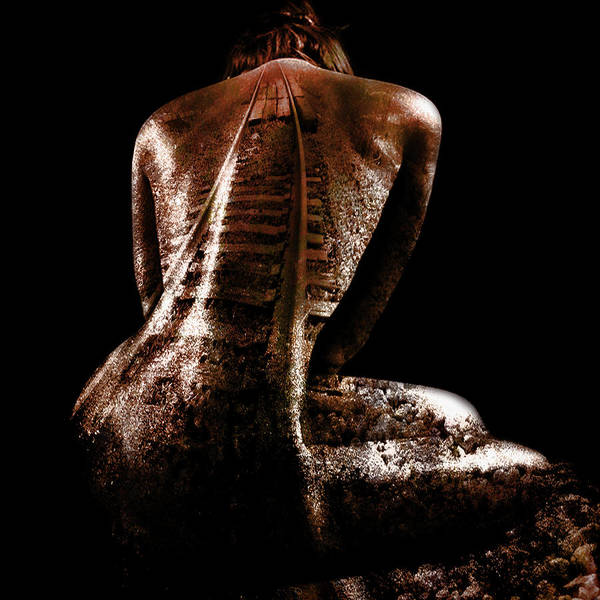 Strange Digital Art - Railway Skin by Marian Voicu