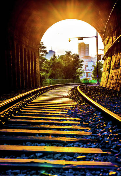 Photograph - Railway Track Haeundae by Max Neivandt