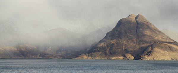 Photograph - Rain Clouds Loom Over The Cuillin Ridge by Stephen Taylor